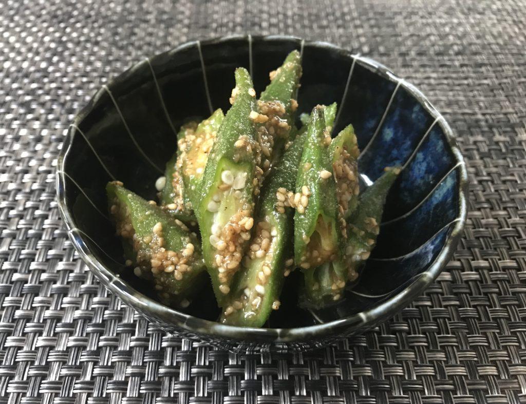 胡麻和え オクラ 【超簡単】オクラ人気レシピ15選!弁当のおかずにもぴったり!